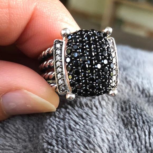 9e54bc60795e0 David Yurman Jewelry - David Yurman Black Diamond Wheaton Ring